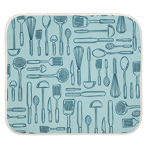 aqua dish drying mat - 8