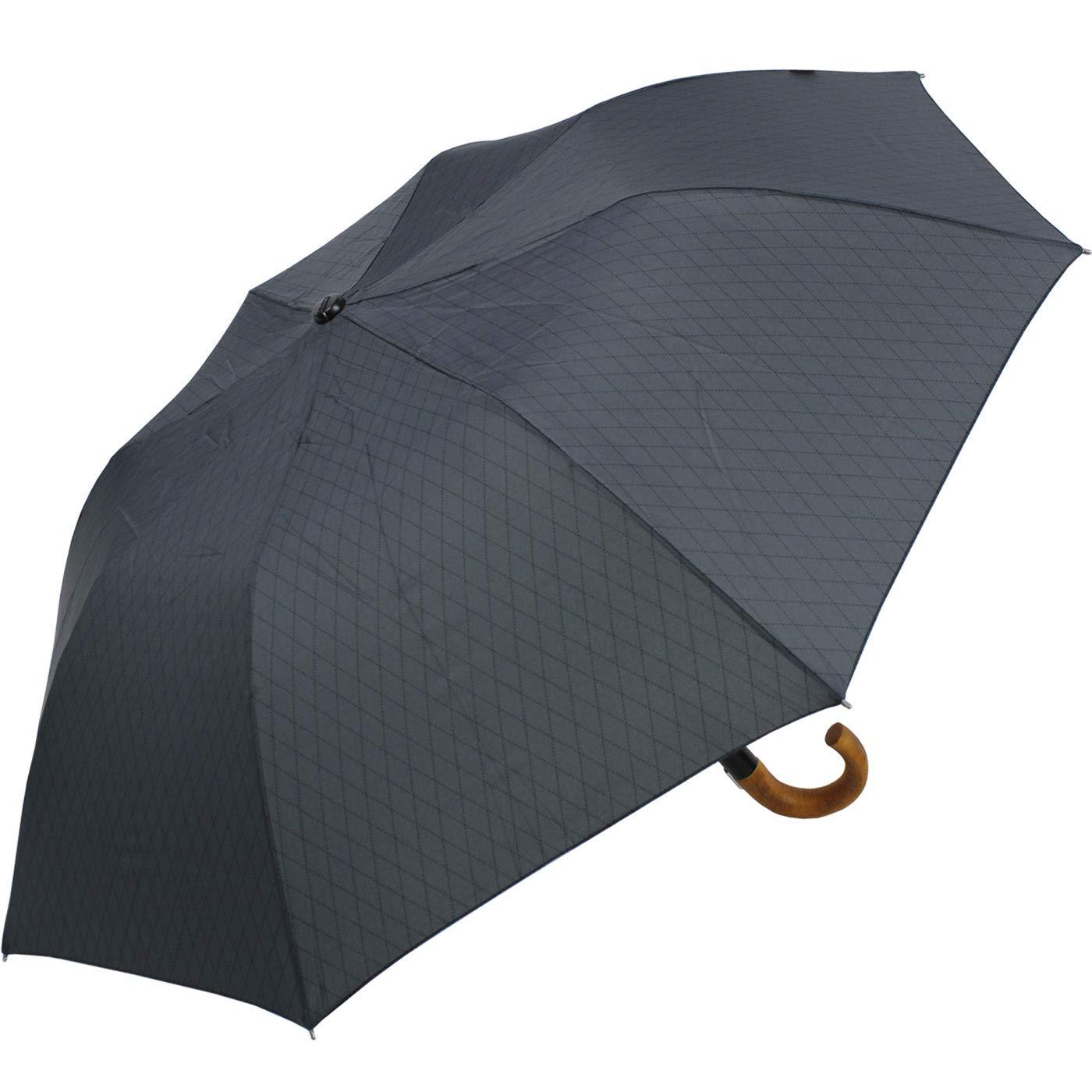 Knirps X1 paraguas plegable de la Hombres Topmatic SL Mango de madera Gents impresiones símbolo: Amazon.es: Equipaje