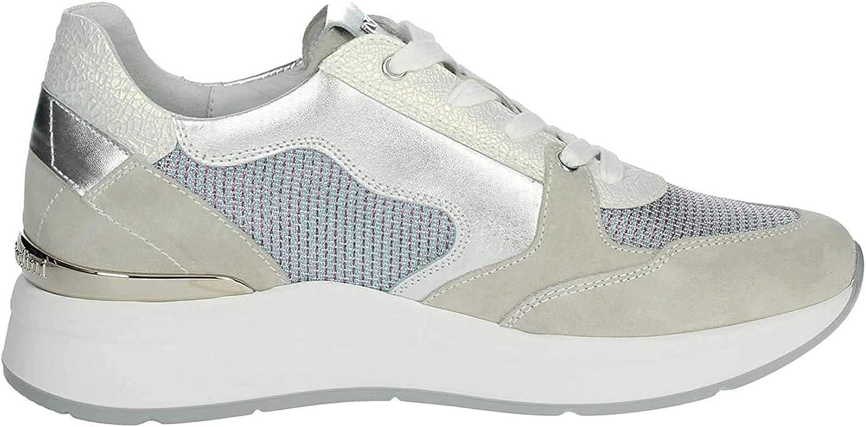Nero Giardini Sneakers Blu Scarpe Donna P907722D: Amazon.it