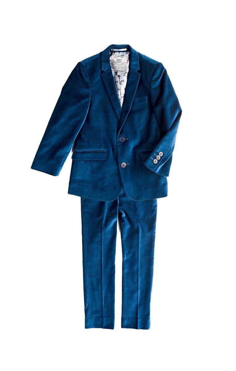 Appaman Big Boys' MOD Suit, Seaport Velvet, 10