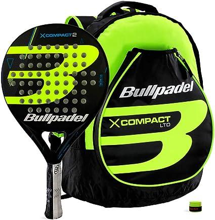 Bullpadel Pack X-Compact 2 Yellow: Amazon.es: Deportes y aire libre