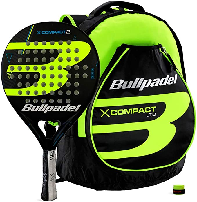 Bullpadel Pack X-Compact 2 Yellow: Amazon.es: Deportes y aire libre
