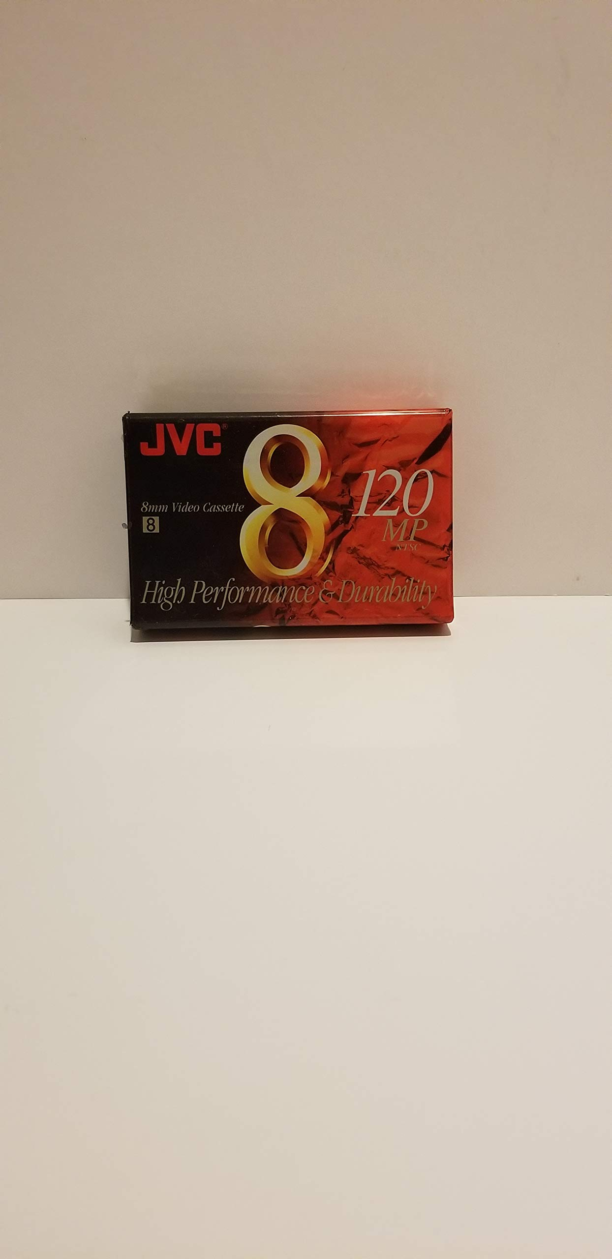 JVC 120-Minute Standard 8mm Camcorder Tapes (2 Pack) (P6120JH2) by JVC