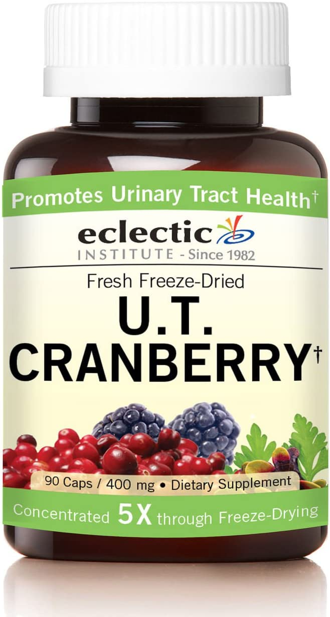 Eclectic U.t. Cranberry Freeze Dried Vegetables, Green, 90 Count