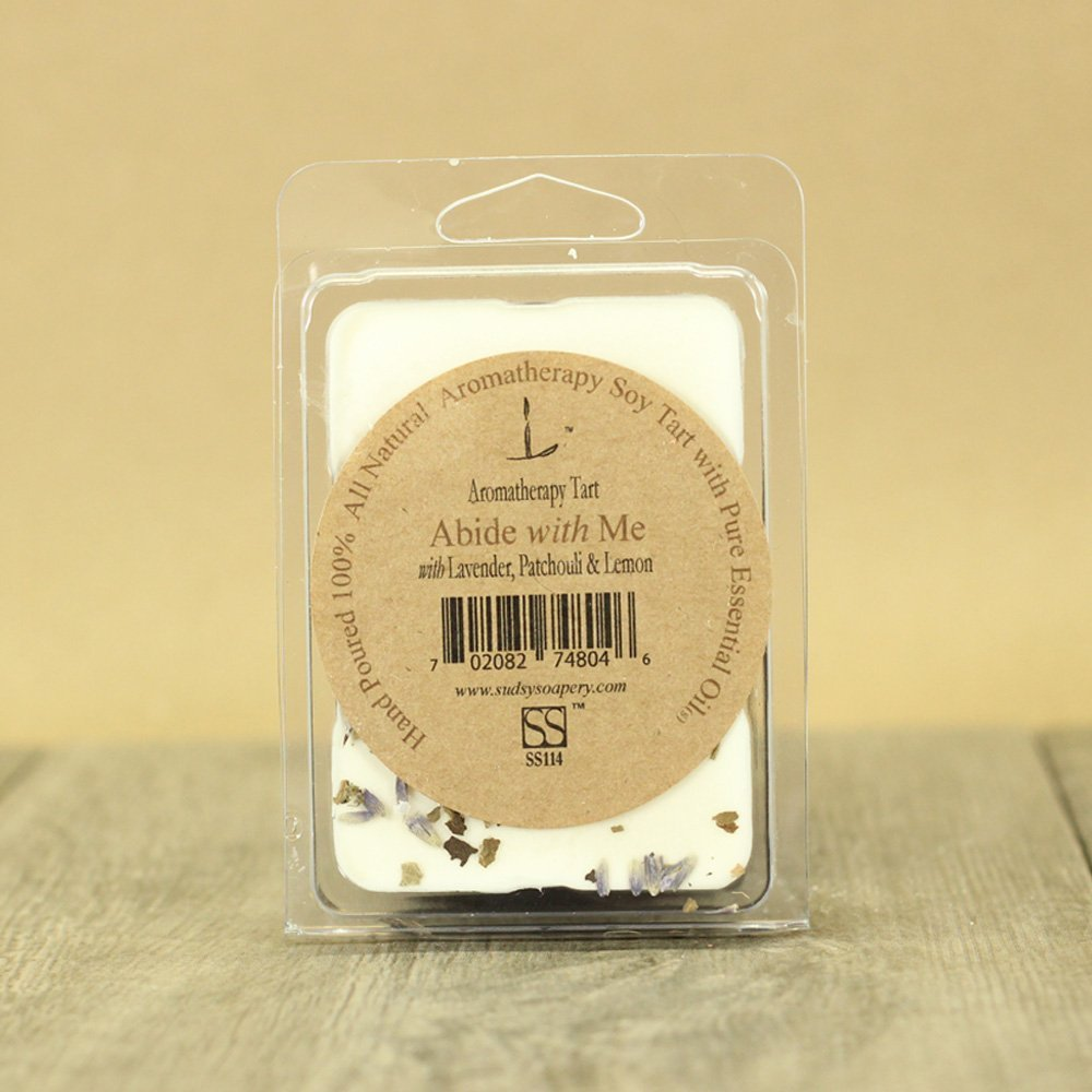 Patchouli, Lemon and Lavender Essential Oil Aromatherapy Scented Soy Melt, 6 Cube Pack, Handmade Wax Melt, Scented Tart, Melt, Natural Candle Melt