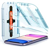 Spigen Tempered Glass Screen Protector [Glas.tR EZ Fit] Designed for iPhone 11 / iPhone XR [6.1 inch] [Case Friendly…