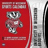 Wisconsin Badgers: 2020 12x12 Team Wall Calendar