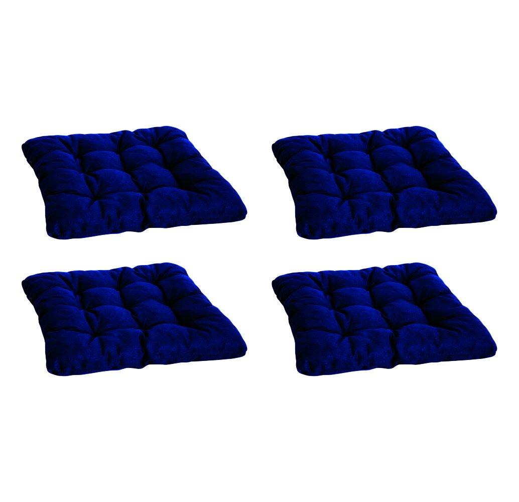 BEO cuscino singolo AU21 SK9-D pad con 9 punti Passo, circa 38 x 38 cm, spessore 6 cm, blu 4-er AU21 SK9