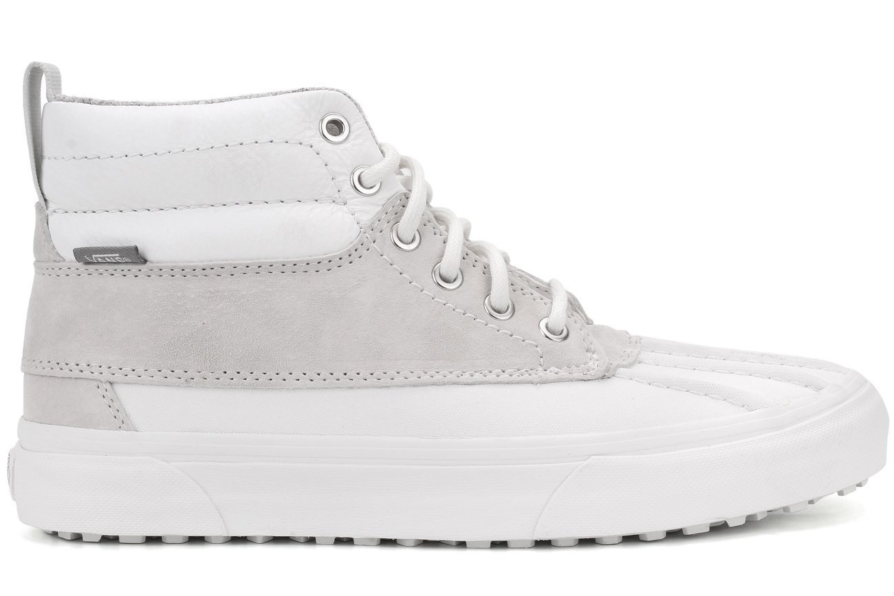Vans Mens SK8-HI Del Pato MTE Leather High-Top Skate Shoes B01DZ0O6SI 10.5 M US Women / 9 M US Men|(Scotchgard) Blanc De Blanc/Polka Dots