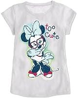 Disney Girls' Minnie Mouse Puff-Sleeve T-Shirt