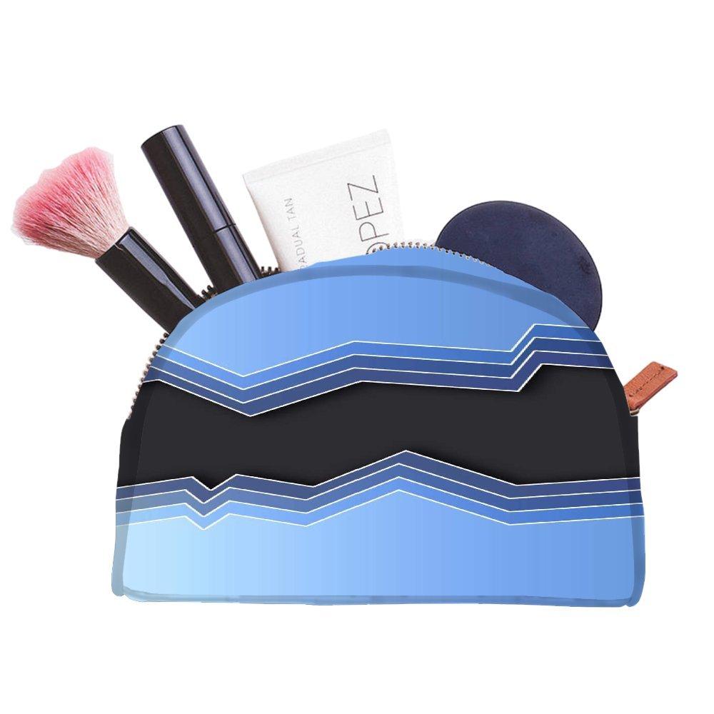 Snoogg Miroir avec Waves 2469multifonctionnel Toile Pen Sac trousse maquillage Outil Sac pochette de rangement Sac à main