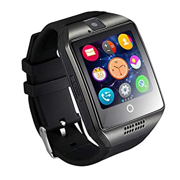 LouiseEvel215 Smart Watch Q18 con cámara Facebook Whatsapp Twitter ...