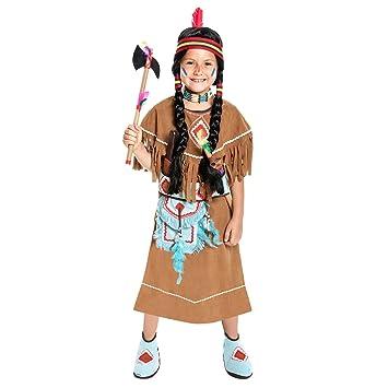 Kostumplanet Indianer Kostum Kinder Madchen Indianerin Kostum Kinder