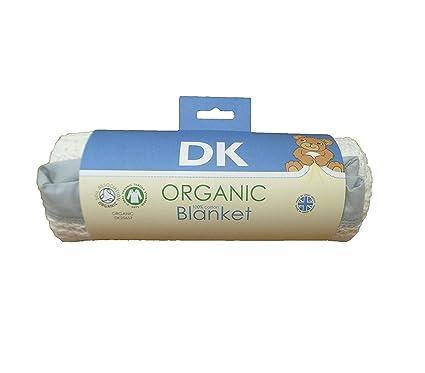 DK Glovesheets - Manta celular, color blanco y gris