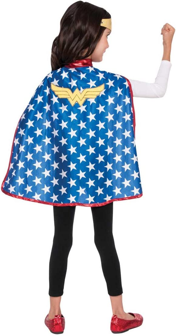 Generique - Capa y Tiara Wonder Woman Super Hero Girls niña ...