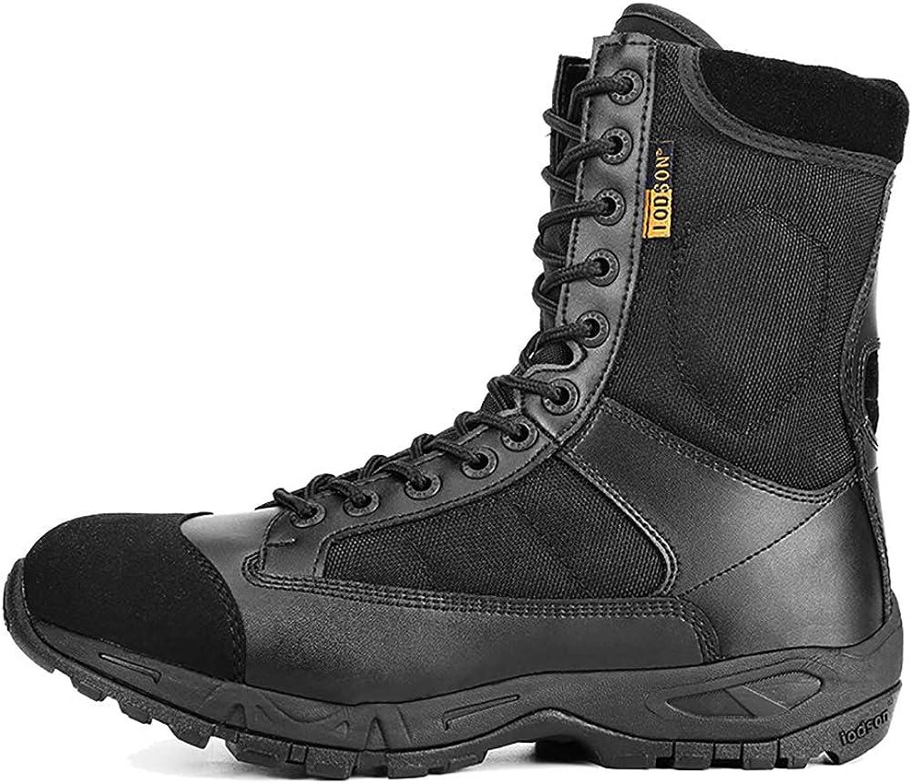 Zapatos de Tobillo del Ej/ército Aerotransportado Botas de Combate T/ácticas Botas Militares Ligeras