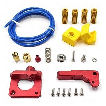 Amazon.com: Kit extrusor de impresora 3D MK8, alimentación ...