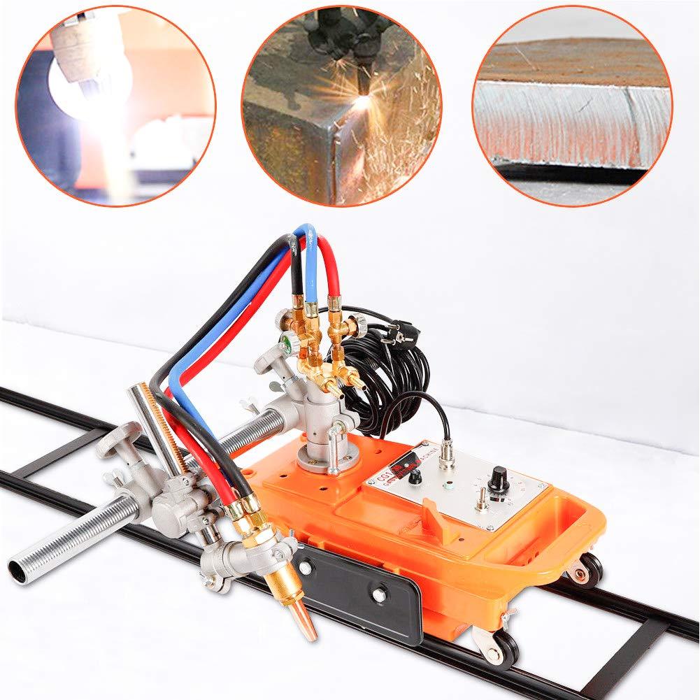 Pipe Cutter TBVECHI Torch Track Burner CG1-30 Gas Cutting Machine Cutter w Rail Track aluminum alloy
