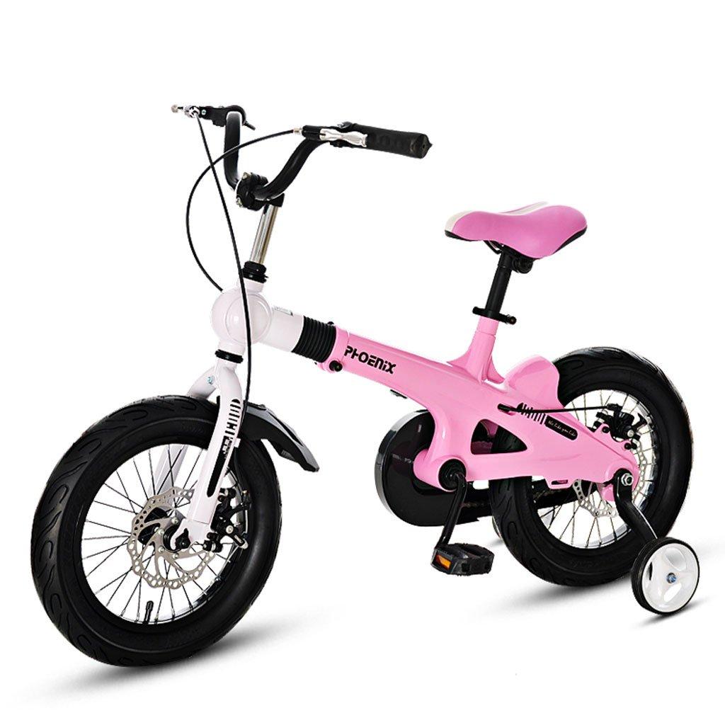 子供用自転車3-7 / 5-11歳の子供用自転車14/16インチのベビーカー ( Size : 14 inch pink ) B07DVT3VBG