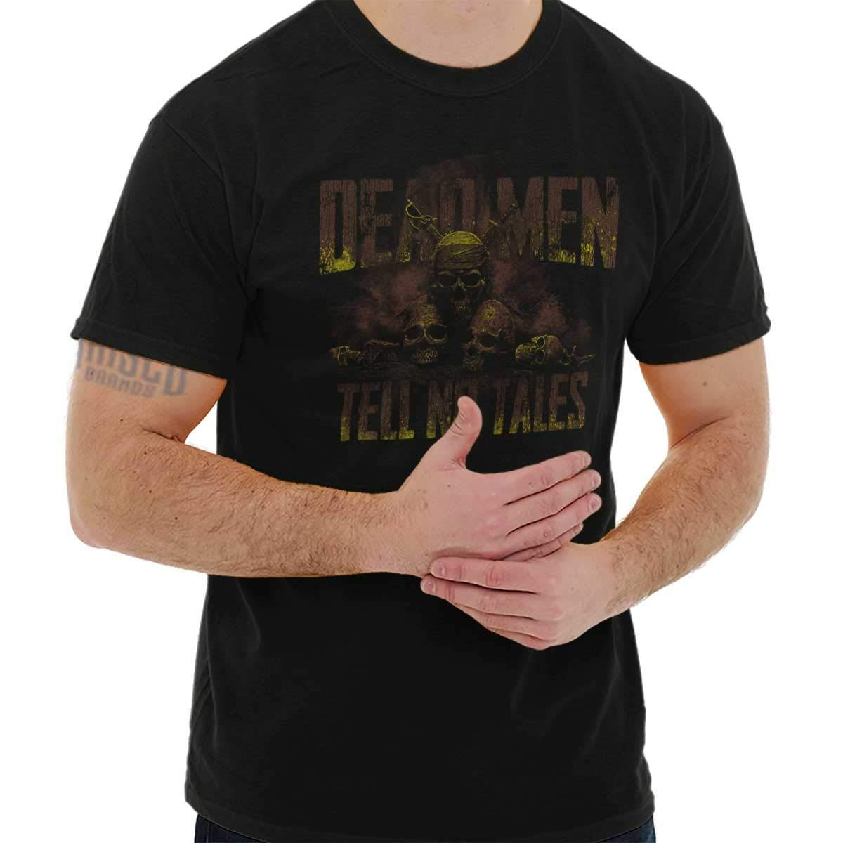 Pirate Ship Skull Edgy Movie Captain T Shirt Tee 3839