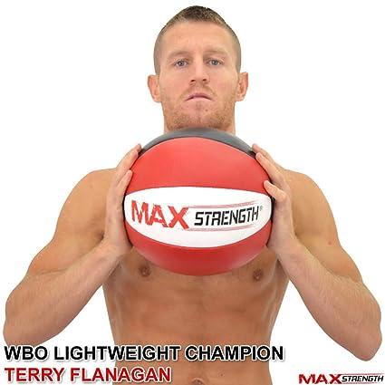 MAXSTRENGTH® - Balón medicinal de fitness de 8 - 10 - 12 - 15 kg ...