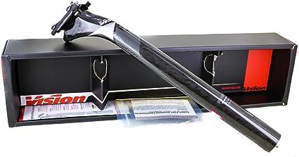 VISION FSA METRON//Di2 SB25 Bike Seatpost 31.6mm X 350mm Carbon Grey//Black NEW