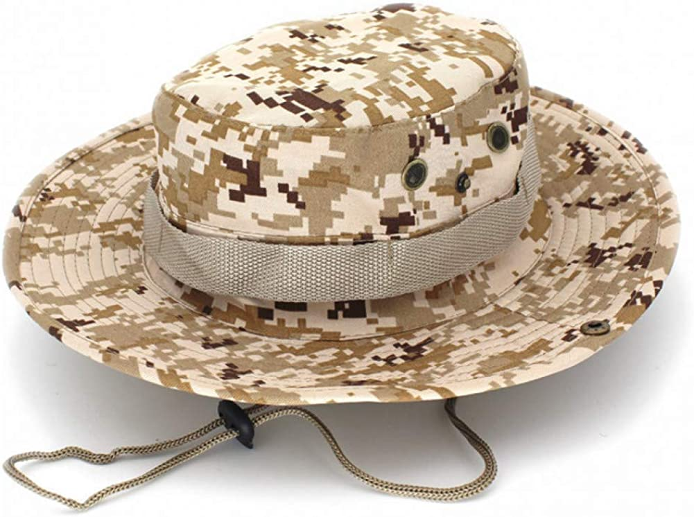 JINRMP Men Bucket Hat Outdoor Fishing Mountaineering Tactical Panama Hats