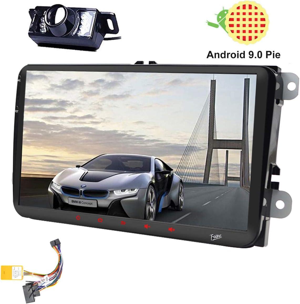 9 Pulgadas Android 9.0 Doble 2Din DSP Head Unit para VW Estéreo ...