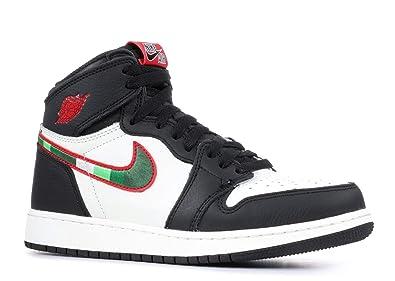cheaper 8e7b5 b1c41 Nike Air Jordan 1 Retro High OG GS, Chaussures de Fitness Homme,  Multicolore (