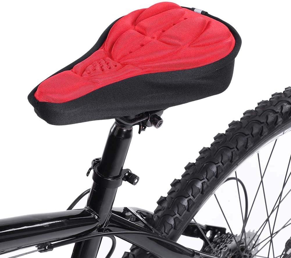Coprisedile Bicicletta con Imbottitura Morbida e Comoda per Bicicletta Bici da Corsa Alomejor Coprisedile per Bici Mountain Bike