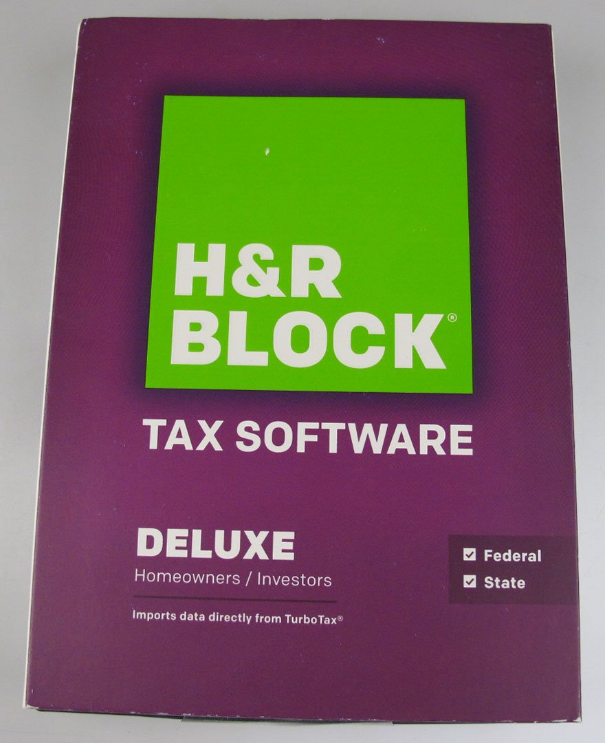 H r block tax software deluxe homeowner investor federal for Homeowner choice