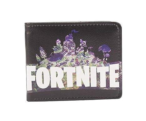 DouYuLike Fortnite Impresión 3D Carteras y Monederos para Niños y Niñas Infantiles Billetera Popular Wallet Regalo