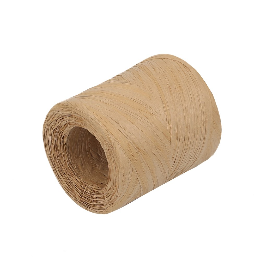 HRX Package Raffia Ribbon 3 Colors Pack of 3 1//4 inch x 100 Feet Packing Paper Twine for Christmas