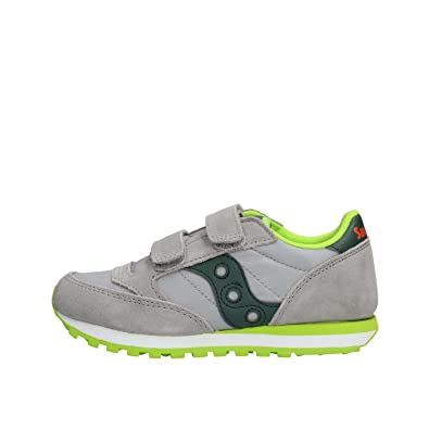 Saucony Mädchen Jazz Double HL Cross-Trainer, Grau (Grey/Dark Gre Em 4), 34.5 EU