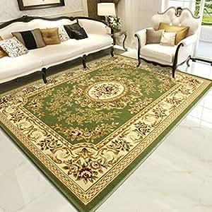 Amazon Com Home Rugs Living Room Carpet Sofa Mats Bedroom Retro
