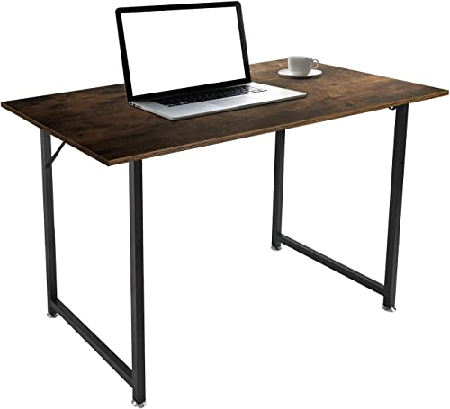 Computer Desk 47 Modern Sturdy Office Desk PC Laptop Notebook Study Writing Table