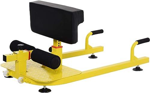 Soozier Multifunctional 3-in-1 Adjustable Squat Machine