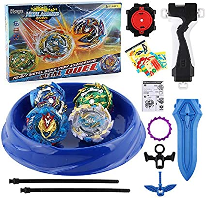 Beyblade Burst Gyro Toys Evolution Battle Spining Top Set With Launcher Stadium