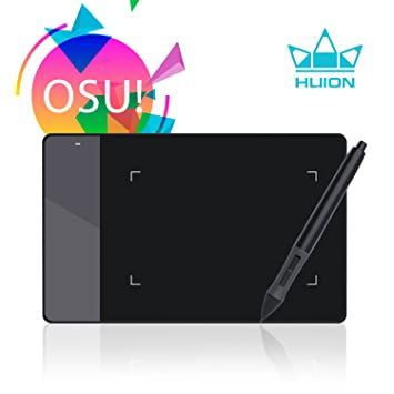 Review Huion 4 x 2.23 Inches OSU Tablet Graphics Drawing Pen Tablet - 420