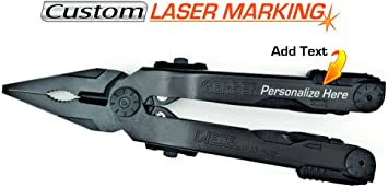 Adjustment tool Screwdriver laser engraving of the handle tool type mark