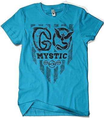 1728-Camiseta Pokemon Go Mystic - Black (Andriu): Amazon.es: Ropa y accesorios