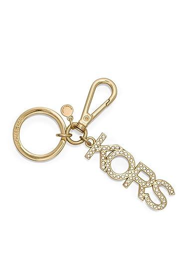 michael kors key charms jewel key fob gold amazon co uk shoes bags rh amazon co uk