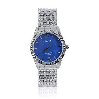 0454a7c22e4418 Nuovi orologi di moda da donna di lusso di marca simulato diamante  cinturino in lega orologi