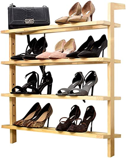 ZYXE-Zapateros Escalera de 4 Niveles Escalera para Zapatos ...