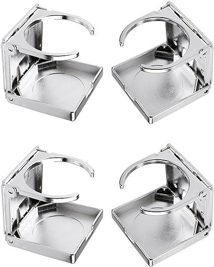 4er Pack SM SunniMix Getr/änkehalter Klappbar Kunststoff Tischfussball Dosenhalter