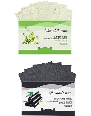 FRCOLOR Tejidos de absorción de aceite de carbón de bambú natural Tejidos de transferencia de té