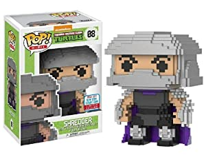 Pop Funko 8-Bit #08 Teenage Mutant Ninja Turtles Shredder (2017 Fall Convention Exclusive)