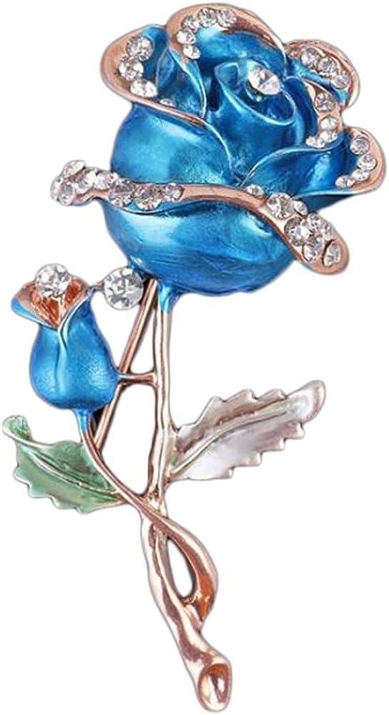 Drawihi Broche Boutonni/ère de Mariage Badge Broche Pin Accessoires de V/êtements Style 135