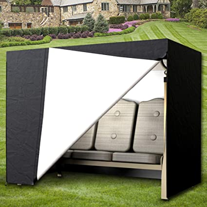 Fantastic Amazon Com Patio Outdoor Garden Swing Covers 3 Seater Caraccident5 Cool Chair Designs And Ideas Caraccident5Info