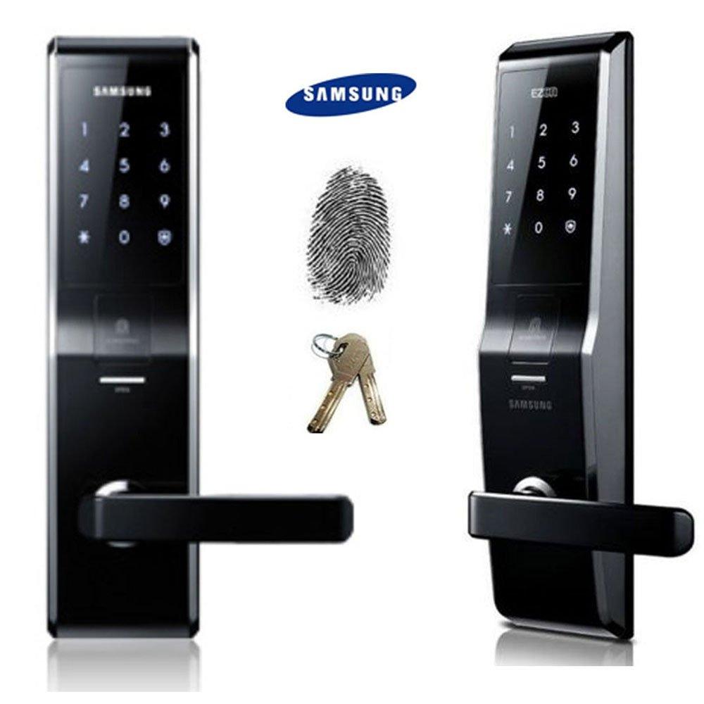 Fingerprint SAMSUNG SHS H700 New Version Of SAMSUNG SHS 5230 Digital Door  Lock Keyless
